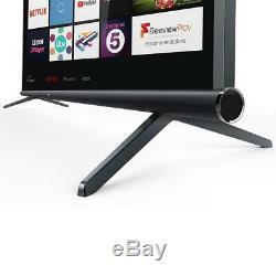 Grand 55 Pouces Smart Tv 4k Ultra Hd Slim Wall Mount Télévision Hdr Tnt Hdmi