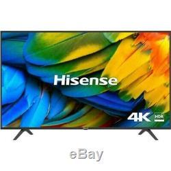 Grand 65 Pouces 4k Ultra Hd Smart Tv Freeiew Jouer Uhd Télévision Écran Plat Wifi