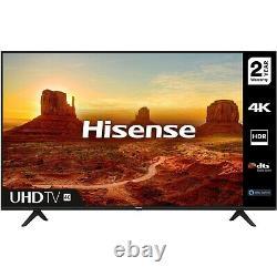 Hisense 43 Pouces 4k Ultra Hd Hdr Smart Tv Avec Freeview Play Et Alexa Intégré
