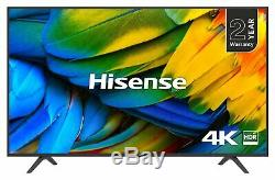 Hisense 50 Pouces H50b7100uk Intelligent 4k Ultra Hd Hdr Wifi Freeview Téléviseur Led Smart Tv