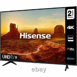 Hisense 55a7100ftuk 55 Pouces Tv Smart 4k Ultra Hd Led Freeview Hd Bluetooth Wifi