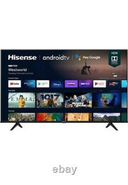 Hisense 65a6g 65-inch 4k Ultra Hd Android Smart Tv Avec Compatibilité Alexa