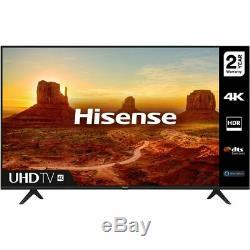 Hisense 65a7100ftuk 65 Pouces Smart Tv 4k Ultra Hd Led Tnt Hd 3 Hdmi