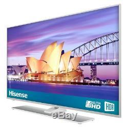 Hisense H43a6550uk Téléviseur 4k Ultra Hd 4k Intelligent Avec Hdr, Format Freeview, Argent