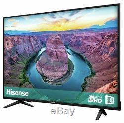Hisense H50ae6100uk Téléviseur Acl Wifi Freeview Wi-fi Intelligent Hd De 50 Pouces 4k Ultra Noir