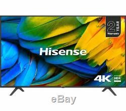 Hisense H65b7100uk 65 Pouces 4k Ultra Smart Hd Hdr Tv Led Avec Play Freeview