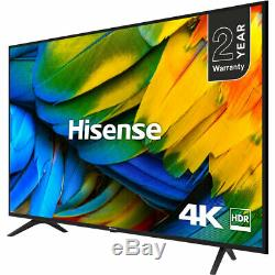 Hisense H65b7100uk B7100 65 Pouces Smart Tv 4k Ultra Hd Led Tnt Hd 3 Hdmi
