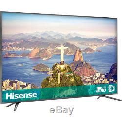 Hisense H75a6600uk Téléviseur Led Intelligent 4 Hd Ultra Hd B De 75 Pouces 4 Hdmi