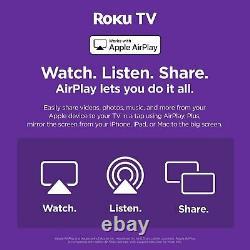Hisense Roku R65a7200uk 65 Pouces 4k Ultra Hd Hdr Smart Led Freeview Tv