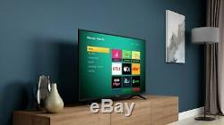 Hisense Roku Tv 43 Pouces R43b7120uk 4k Ultra Hd Hdr Freeview Téléviseur Led Smart Tv