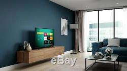 Hisense Roku Tv 50 Pouces R50b7120uk 4k Ultra Hd Hdr Freeview Téléviseur Led Smart Tv