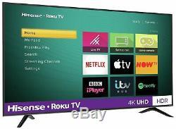 Hisense Roku Tv R65b7120uk 65 Pouces 4k Ultra Hd Hdr Freeview Intelligent Wifi Tv Led