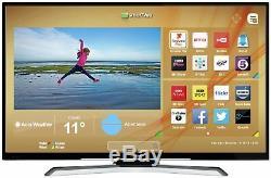 Hitachi Téléviseur Led Smart Wifi 43 'ultra Hd Hdr De 43 Pouces Avec Lecteur De Tnt, Noir