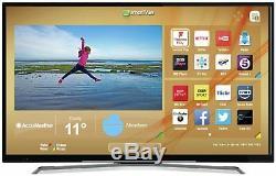 Hitachi Téléviseur Led Smart Wifi Freeview Hd 50 Pouces 4k Ultra Hd, Noir