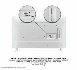 Lg 43un7390 43 Pouces 4k Ultra Hd Led Intelligent Wifi Tv Blanc