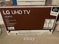Lg 43up75006lf (2021) Led Hdr 4k Ultra Hd Smart 43 Pouces Tv Freeview Freesat Hd