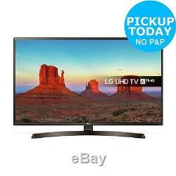 Lg 49uk6400plf Téléviseur Led Smart Wifi Hd Avec Technologie Freeview Hd De 49 Pouces, 49 Pouces, Noir