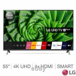 Lg 55un80 55 Pouces 4k Ultra Hd Smart Tv Led Netflix Prime Vous Tube 55un80006la