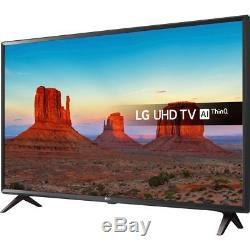 Lg 65uk6300plb Uhd Téléviseur Led Intelligent Ultra Hd 65 Pouces 4k 3 Hdmi