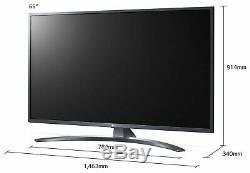 Lg 65um7400 Téléviseur À Led Smart Wifi Ultra Hd De 65 Pouces 4k, Noir