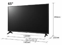 Lg 65up75006lf 65 Pouces 4k Ultra Hd Hdr Smart Wifi Tv Led Noir