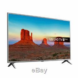 Lg 75uk6500pla Téléviseur Ultra Hd 4k Intelligent De 75 Pouces Avec Hdr Freeview Hd Lecture