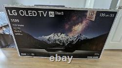 Lg Oled55b9pla 55 Pouces Oled 4k Ultra Hdr Smart Tv Ouvert, Jamais Utilisé