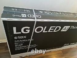 Lg Oled65bx6lb 65 Pouces Smart 4k Ultra Hd Hdr Oled Tv Avec Google Assistant & Ale