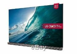 Lg Oled65g7v Téléviseur Oled Premium Hd Premium 4k Ultra Hd Tv 65 Pouces Avec Lecteur De Freeview