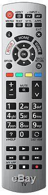 Panasonic 50tx-50ex700b Téléviseur À Led Smart Freeview Hdtv Hd De 50 Pouces, Argent
