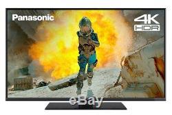 Panasonic Tx-43fx555b Téléviseur Led Smart 4k Ultra Hd Hdr 43 Pouces Avec Technologie Freeview Wifi