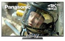 Panasonic Tx-49fx750b Téléviseur Smart 4k Ultra Hd Hdr 49 Pouces À Enregistrement Hd Avec Lecture Freeview Sur Usb
