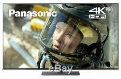 Panasonic Tx-55fx750b Téléviseur Led Smart 4k Ultra Hd Hdr De 55 Pouces Avec Enregistrement Freeview Usb