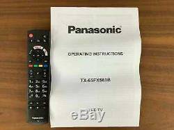 Panasonic Tx-65fx560b 65 Pouces Intelligent 4k Ultra Hd Tv Hdr Tnt Lecture A + Nominale