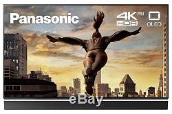 Panasonic Tx-65fz952b Téléviseur Oled Hd Hdr Ultra Hd 4k 65 Pouces Avec Lecteur De Freeview
