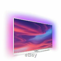 Philips 43pus7334 43 Pouces 4k Ultra Hd Hdr Intelligent Wifi Led Ambilight Tv Argent