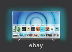 Philips 43pus8105 43 Pouces 4k Ultra Hd Smart Wifi Led Ambilight Tv Silver