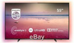 Philips 55pus6704 55 Pouces 4k Ultra Hd Hdr Tnt Smart Play Wifi Tv Led