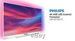 Philips 58pus7304 / 12 58 Pouces 4k Ultra Smart Hd Ambilight Tv-inc Garantie 5 Ans
