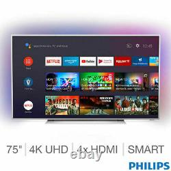 Philips 75pus7354/12 75 Pouces 4k Ultra Hd Smart Android Ambilight Tv