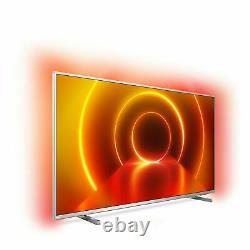 Philips Rénové 50 Pouces 50pus8105 Smart 4k Ultra Hd Hdr Ambilight Led Tv Royaume-uni
