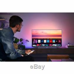 Philips Tpvision 65pus6814 65 Pouces Smart Tv 4k Ultra Hd Led Ambilight Freeview