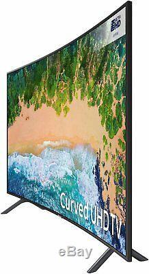 Samsung 49nu7300 Téléviseur Led Wifi Intelligent Wifi Ultra-net 4k Courbé De 49 Pouces