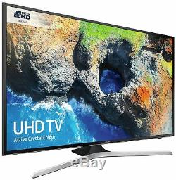 Samsung 50mu6120 Téléviseur À Led Smart Wifi Wifi Freeview De 50 Pouces 4k Ultra Hd