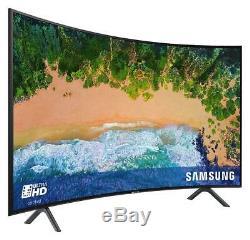 Samsung 55 Pouces 4k Uhd Ultra Hd Résolution Tv Wifi Intelligent Wifi Hd Incurvé