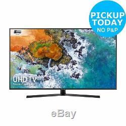 Samsung 55nu7400 Téléviseur À Led Smart Wifi Ultra-hdd 55 Pouces, Noir