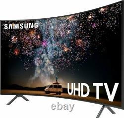 Samsung 65 Pouces Curved Smart Tv 4k Ultra Hd Led Grand Téléviseur Noir Hdr Wifi