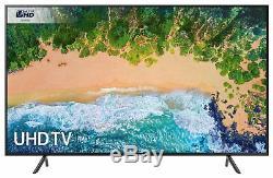 Samsung 75nu7100 Téléviseur À Led Smart Wifi Ultra Hd De 75 Pouces 4k, Noir