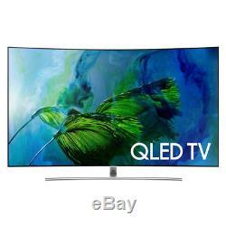Samsung Curved Smart Tv 4k Ultra Hd (qled) Qn65q8c 2017 Modèle