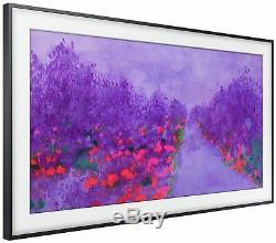Samsung Le Cadre 43 Pouces 4k Ultra Hd Hdr Téléviseur À Led Wifi Intelligent En Mode Art Noir